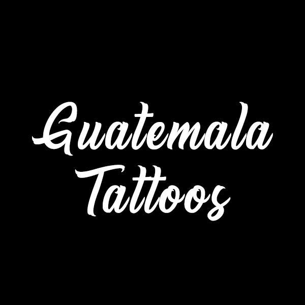 Guatemala Tattoos